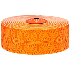 Supacaz Super Sticky Kush Starfade Handlebar Tape, neon orange